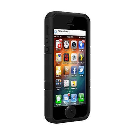 SwitchEasy FreeRunner Hybrid Case for iPhone 5S / 5 - Black