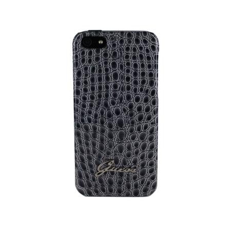 best service cc2ac 83211 Guess iPhone 5S / 5 Hard Case - Dark Croc