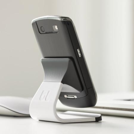 Support bureau universel pour téléphone Milo - Blanc