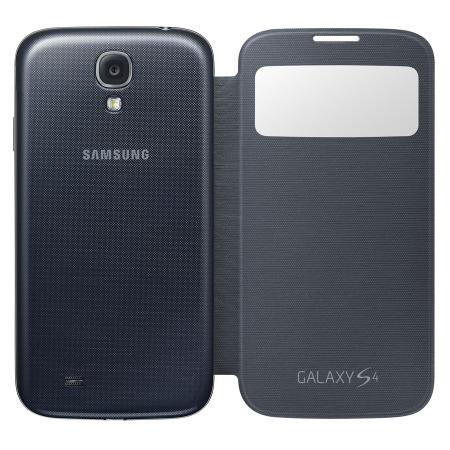 samsung galaxy s4 black box  Cover S View originale Samsung