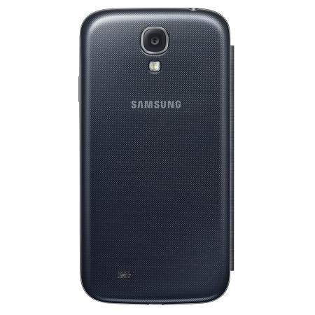 samsung galaxy s4 phone black. official samsung galaxy s4 s-view premium cover case - black phone