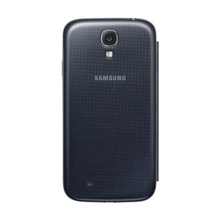 Funda Samsung Galaxy S4 con tapa Oficial  - Negra  -