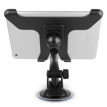 Multi-Direction Stand / Car Holder for iPad Mini 3 / 2 / 1 - Black