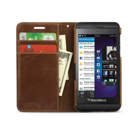can also zenus masstige blackberry z10 lettering diary case brown you