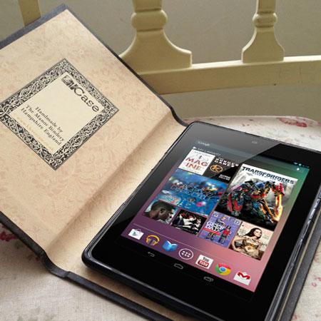 Klevercase False Book Google Nexus 7- Pride & Prejudice