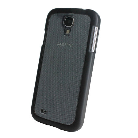 Muvit Bimat Back Case for Samsung Galaxy S4 - Clear / Black