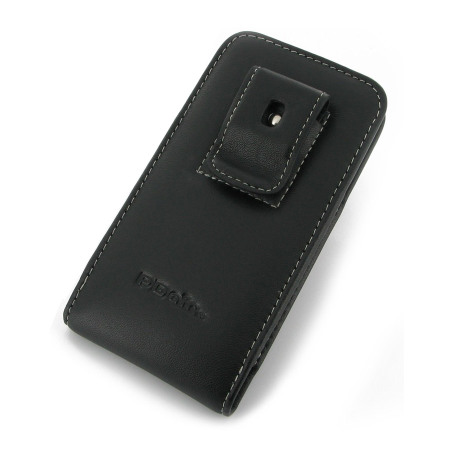 PDair Vertical Leather Pouch Case with Belt Clip - HTC One 2013