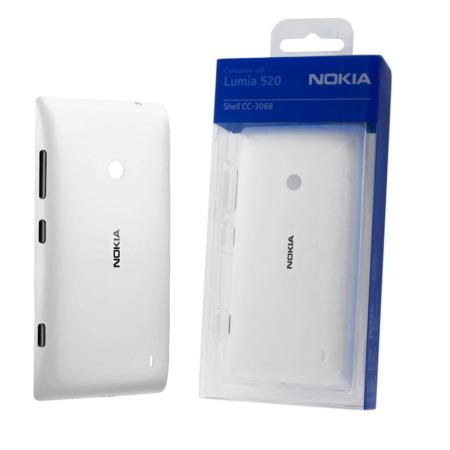 Nokia純正 Nokia Lumia 525 / 520用 シェルカバー(ホワイト)