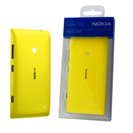 Nokia Lumia 525 / 520 Replacement Shell - Yellow - CC-3068YEL