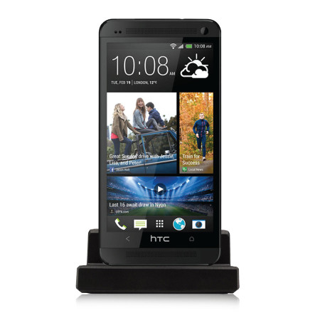 Desk Dock for HTC One - Black