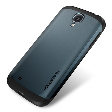 reputable site 5f3ab 73fb2 Spigen SGP Slim Armour Case for Samsung Galaxy S4 - Slate