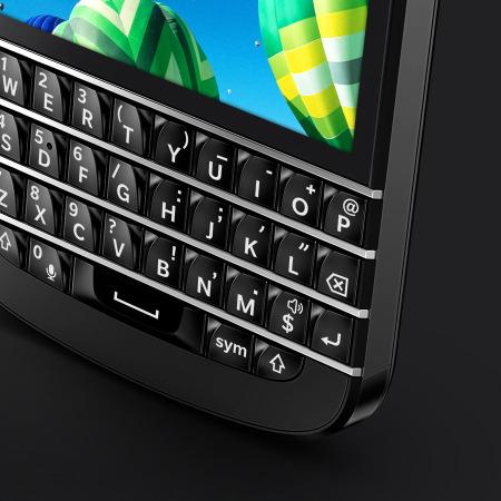 Sim Free BlackBerry Q10 - Black