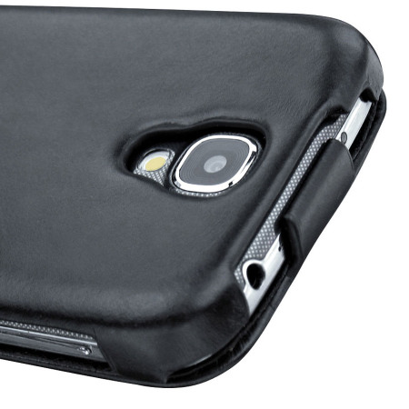 Noreve Tradition Leather Case for Samsung Galaxy S4 - Black