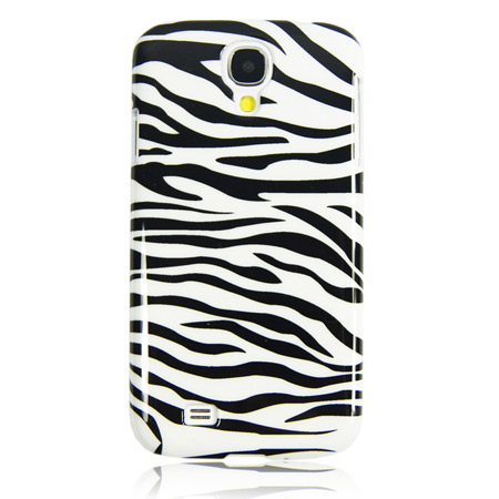 Hard Cover Case For Samsung Galaxy S4 - Zebra Print