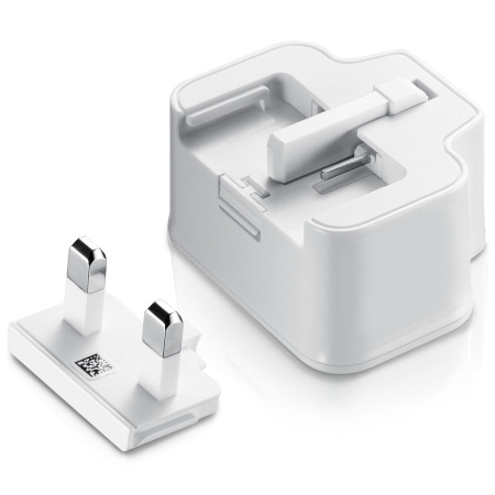 Official Samsung Galaxy UK Mains Charger & USB Cable - 2 Amp - White