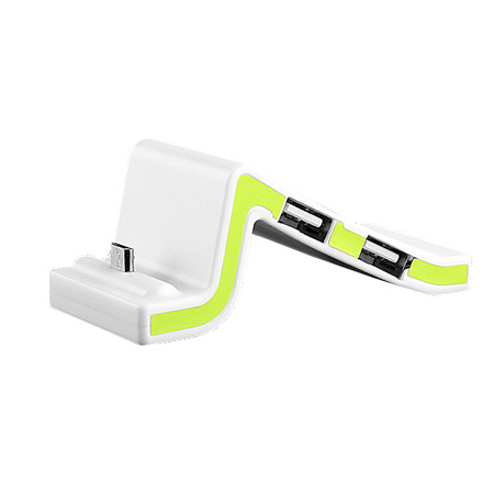 USB Micro-B SyncCharger Stand with Hub