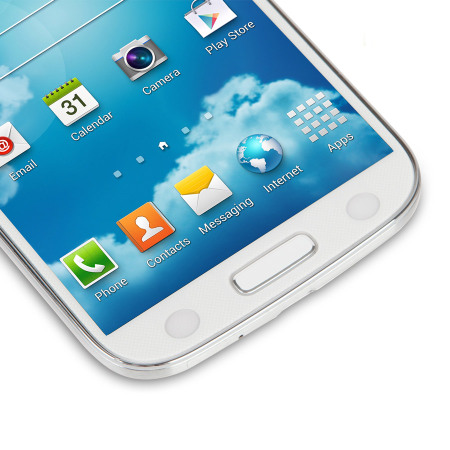 Moshi iVisor Anti Glare Screen Protector for Samsung Galaxy S4 - White