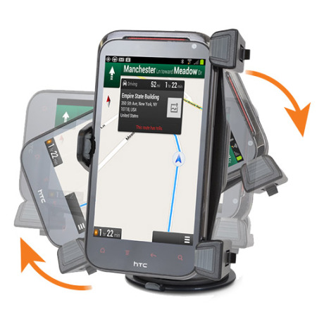 iBOLT xProDock Active Vehicle Dock for HTC Smartphones