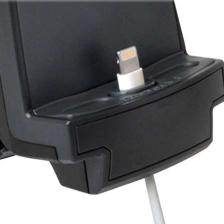 support voiture iphone 5 6s 6 ibolt xprodock actif. Black Bedroom Furniture Sets. Home Design Ideas