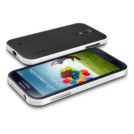 sports shoes cb1f4 dd535 Spigen SGP Neo Hybrid Case for Samsung Galaxy S4 - White