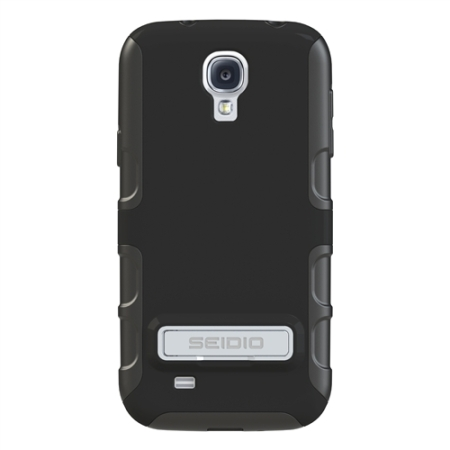 Seidio Dilex Case for Samsung Galaxy S4 with Kickstand - Black
