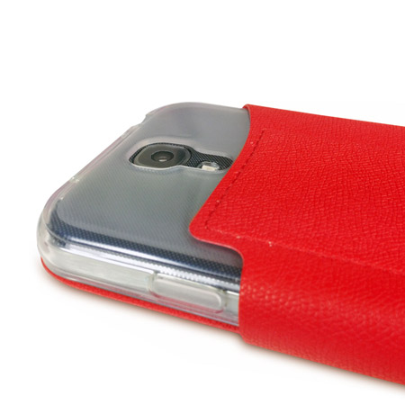 Sonivo Origami Case and Stand for the Samsung Galaxy S4 - Red