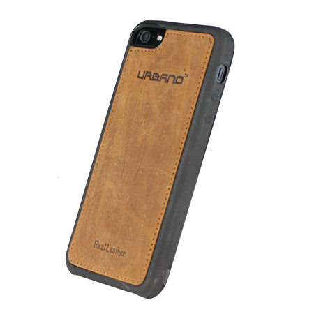 Urbano Genuine Leather Slim Case for iPhone 5S / 5 - Vintage