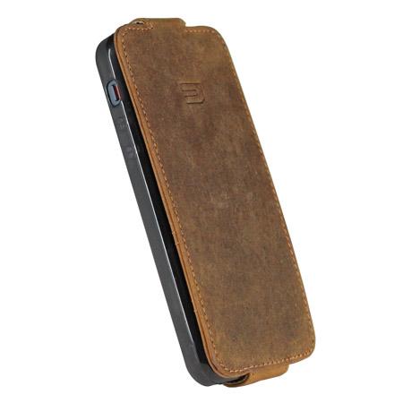d77eb072c3c8 Urbano Genuine Leather Flip Case for iPhone 5S   5 - Vintage