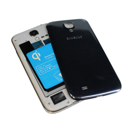 Qi Internal Wireless Charging Adapter for Samsung Galaxy S4