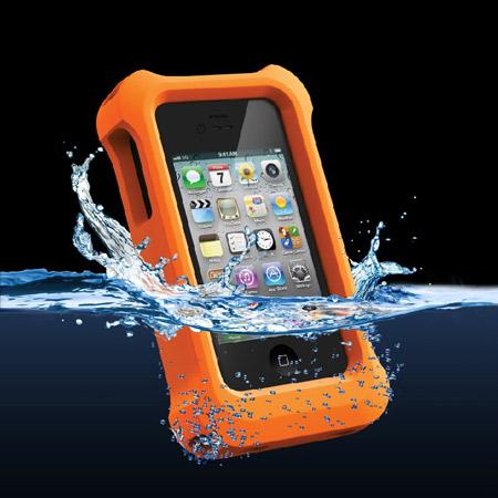 newest e6e80 624ef LifeProof LifeJacket Float Case for iPhone 5 - Orange