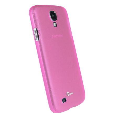 Pinlo Slice 3 Case for Samsung Galaxy S4 - Transparent Pink