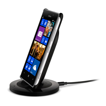 Official Nokia Lumia 925 Wireless Charging Shell - Black