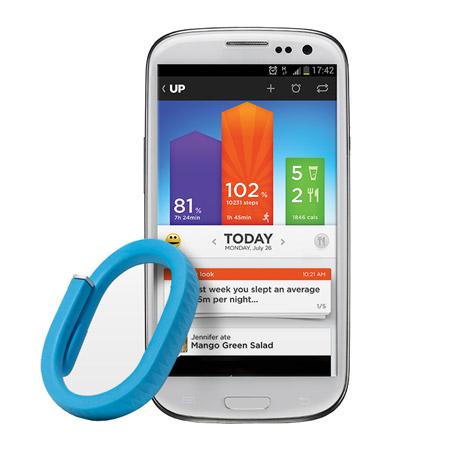 Jawbone UP Activity Tracking Wristband - Blue - Medium