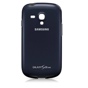 official samsung galaxy s3 mini case cover plus - navy blue