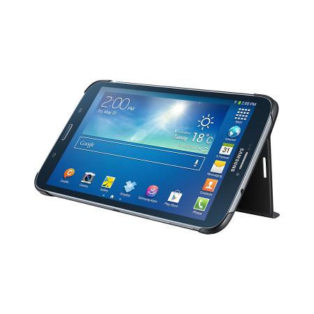 Official Samsung Galaxy Tab 3 8.0 Book Cover - Black