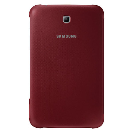Official Samsung Galaxy Tab 3 8.0 Book Cover - Red