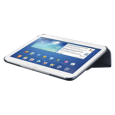Official Samsung Galaxy Tab 3 10.1 Book Cover - Topaz Blue