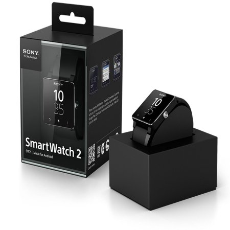 Reloj Android Sony SmartWatch 2 - Silicona Negro