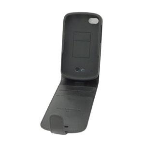Capdase Leather Flip Case for Blackberry Q10 - Black