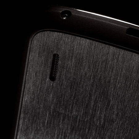 dbrand Textured Back Cover Skin for Google Nexus 4 - Black Titanium