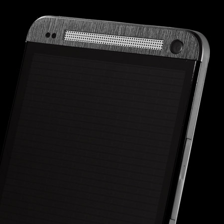 dbrand Textured Front & Back Skin for HTC One 2013 - Black Titanium