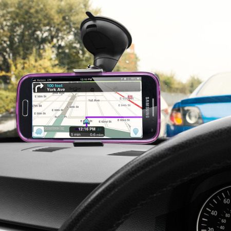 Olixar DriveTime Samsung Galaxy S4 Mini Bilhållare & laddare