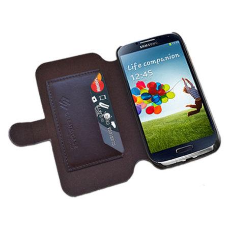 Create And Case Samsung Galaxy S4 Flip Case - Warrior Owl