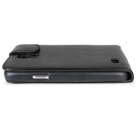 Samsung Galaxy S4 Mini Flip Case - Black