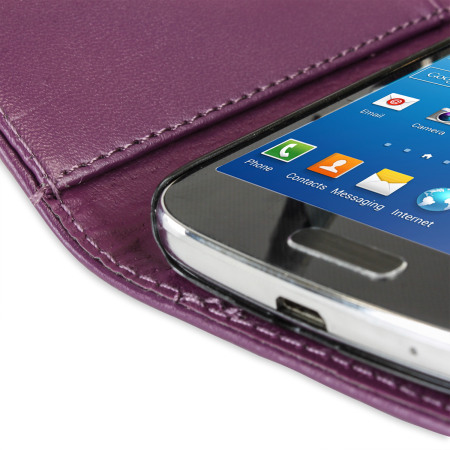 Samsung Galaxy S4 Mini Wallet Case - Purple