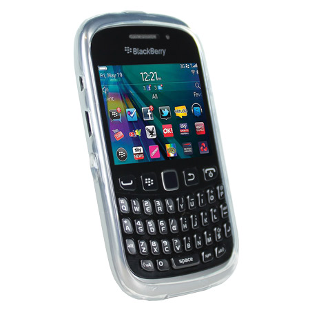 3980fd2689e Funda BlackBerry Curve 9320 FlexiShield - Blanca