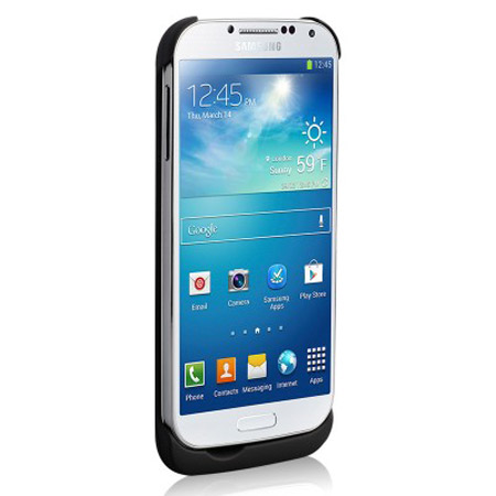 Naztech 3000mAh Power Case for Samsung Galaxy S4 - Black