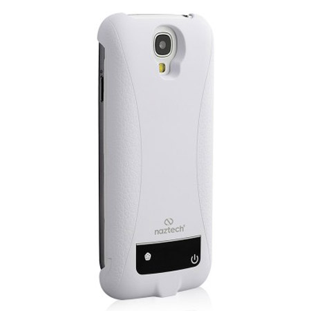 quality design f84c5 ee286 Naztech 3000mAh Power Case for Samsung Galaxy S4 - White