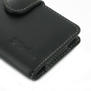 PDair Horizontal Leather Case for Nokia Lumia 925 - Black