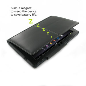PDair Sony Tablet Xperia Z Book Case - Black
